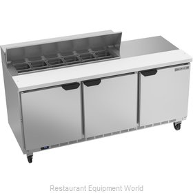 Beverage Air SPE72HC-12 Refrigerated Counter, Sandwich / Salad Top