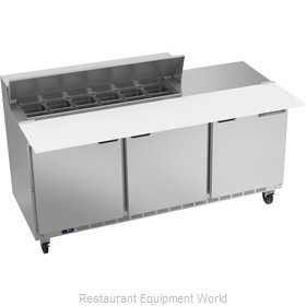 Beverage Air SPE72HC-12C Refrigerated Counter, Sandwich / Salad Top