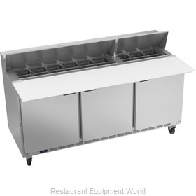 Beverage Air SPE72HC-18C Refrigerated Counter, Sandwich / Salad Top