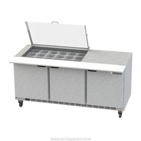 Beverage Air SPE72HC-18M-CL Refrigerated Counter, Mega Top Sandwich / Salad Unit