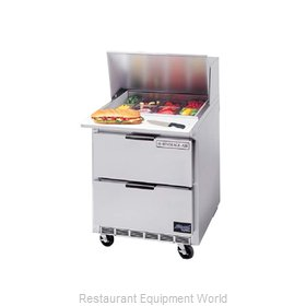 Beverage Air SPED27-B Refrigerated Counter, Sandwich / Salad Top