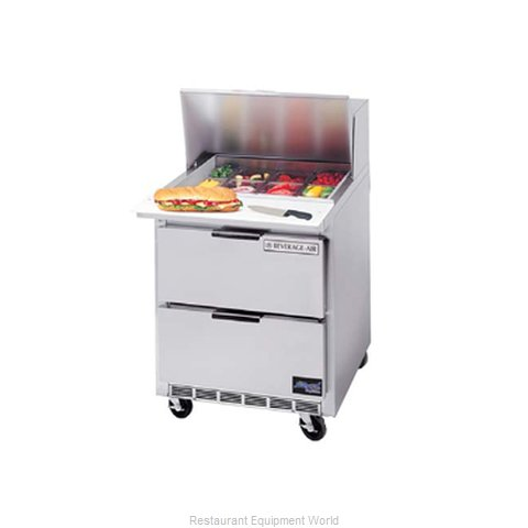 Beverage Air SPED27C-B Refrigerated Counter, Sandwich / Salad Top