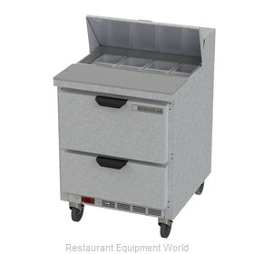 Beverage Air SPED27HC-B Refrigerated Counter, Sandwich / Salad Top