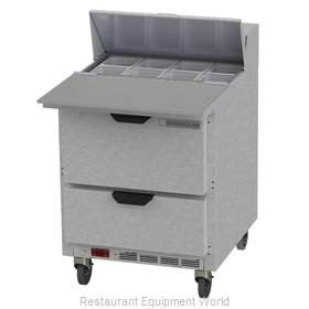 Beverage Air SPED27HC-C-B Refrigerated Counter, Sandwich / Salad Top