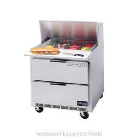 Beverage Air SPED36-10C Refrigerated Counter, Sandwich / Salad Top