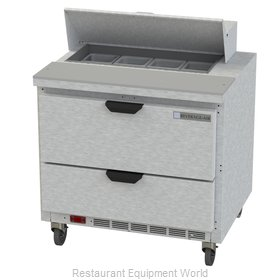 Beverage Air SPED36HC-08-2 Refrigerated Counter, Sandwich / Salad Top