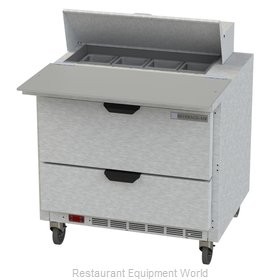 Beverage Air SPED36HC-08C-2 Refrigerated Counter, Sandwich / Salad Top