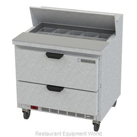 Beverage Air SPED36HC-10-2 Refrigerated Counter, Sandwich / Salad Top