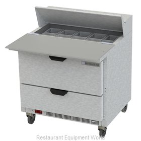 Beverage Air SPED36HC-10C-2 Refrigerated Counter, Sandwich / Salad Top