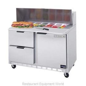 Beverage Air SPED48-08C-2 Refrigerated Counter, Sandwich / Salad Top
