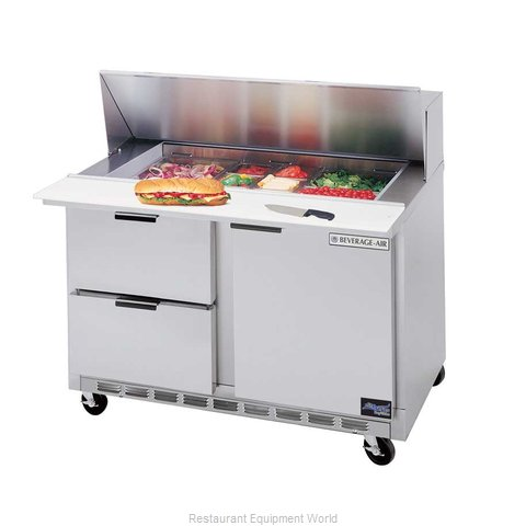 Beverage Air SPED48-12-2 Refrigerated Counter, Sandwich / Salad Top