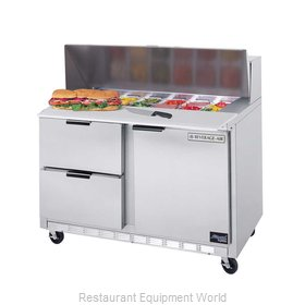 Beverage Air SPED48-12C-2 Sandwich Unit