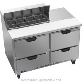 Beverage Air SPED48HC-08-4 Refrigerated Counter, Sandwich / Salad Top