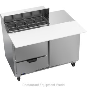 Beverage Air SPED48HC-08C-2 Refrigerated Counter, Sandwich / Salad Top
