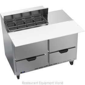 Beverage Air SPED48HC-08C-4 Refrigerated Counter, Sandwich / Salad Top
