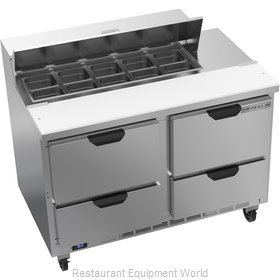 Beverage Air SPED48HC-10-4 Refrigerated Counter, Sandwich / Salad Top