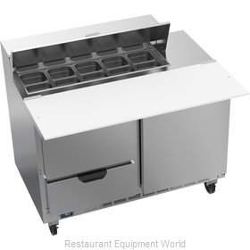 Beverage Air SPED48HC-10C-2 Refrigerated Counter, Sandwich / Salad Top