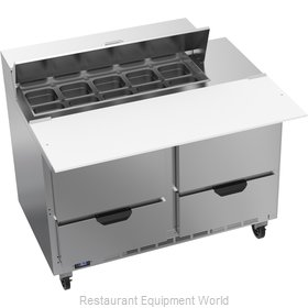 Beverage Air SPED48HC-10C-4 Refrigerated Counter, Sandwich / Salad Top