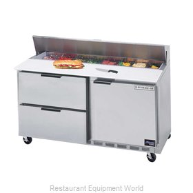 Beverage Air SPED60-16-2 Refrigerated Counter, Sandwich / Salad Top
