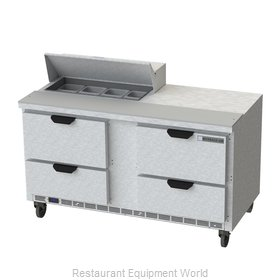 Beverage Air SPED60HC-08-4 Refrigerated Counter, Sandwich / Salad Top