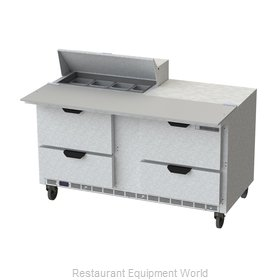 Beverage Air SPED60HC-08C-4 Refrigerated Counter, Sandwich / Salad Top