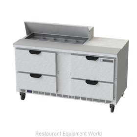 Beverage Air SPED60HC-10-4 Refrigerated Counter, Sandwich / Salad Top