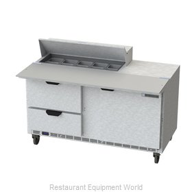 Beverage Air SPED60HC-10C-2 Refrigerated Counter, Sandwich / Salad Top