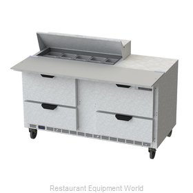Beverage Air SPED60HC-10C-4 Refrigerated Counter, Sandwich / Salad Top