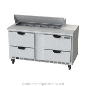 Beverage Air SPED60HC-12-4 Refrigerated Counter, Sandwich / Salad Top