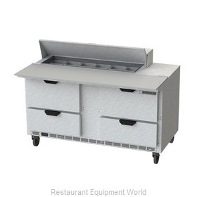 Beverage Air SPED60HC-12C-4 Refrigerated Counter, Sandwich / Salad Top