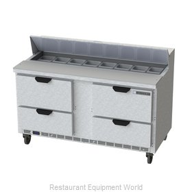 Beverage Air SPED60HC-16-4 Refrigerated Counter, Sandwich / Salad Top