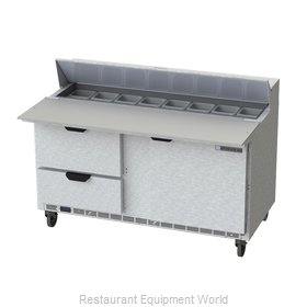 Beverage Air SPED60HC-16C-2 Refrigerated Counter, Sandwich / Salad Top