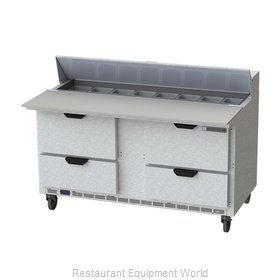 Beverage Air SPED60HC-16C-4 Refrigerated Counter, Sandwich / Salad Top