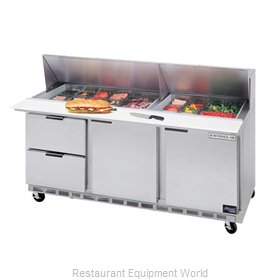 Beverage Air SPED72-08-2 Sandwich Unit