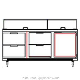 Beverage Air SPED72-10-4 Refrigerated Counter, Sandwich / Salad Top