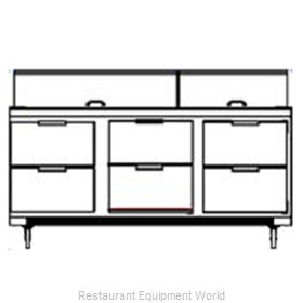 Beverage Air SPED72-18-6 Sandwich Unit