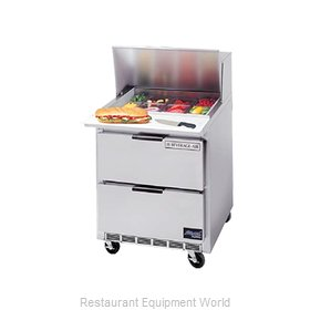 Beverage Air SPEDP27C-B Sandwich Unit