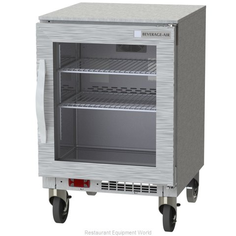 Beverage Air UCF20HC-25-15 Freezer, Undercounter, Reach-In