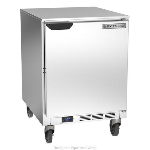 Beverage Air UCF24AHC Freezer, Undercounter, Reach-In