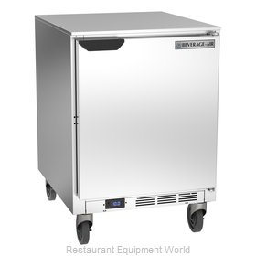 Beverage Air UCF24AHC Freezer, Undercounter, Reach-In