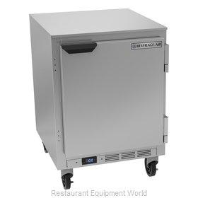 Beverage Air UCF24HC Freezer, Undercounter, Reach-In