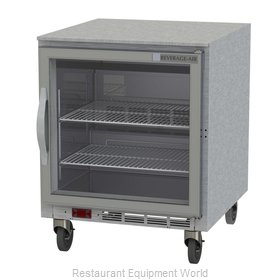 Beverage Air UCF27AHC-25 Freezer, Undercounter, Reach-In