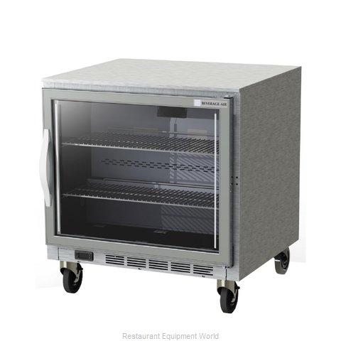 Beverage Air UCF32AHC-25 Freezer, Undercounter, Reach-In