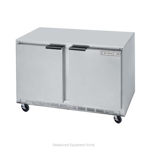 Beverage Air UCF36A Reach-In Undercounter Freezer 2 section