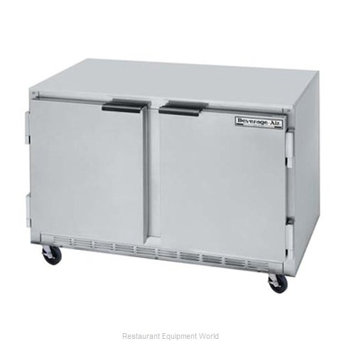 Beverage Air UCF48A Reach-In Undercounter Freezer 2 section