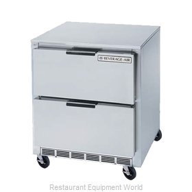 Beverage Air UCFD27A-2 Freezer, Undercounter, Reach-In