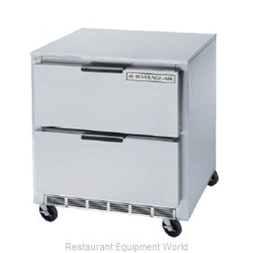 Beverage Air UCFD36A-2 Freezer, Undercounter, Reach-In