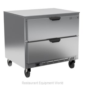 Beverage Air UCFD36AHC-2 Freezer, Undercounter, Reach-In
