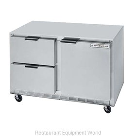 Beverage Air UCFD48A-2 Freezer, Undercounter, Reach-In