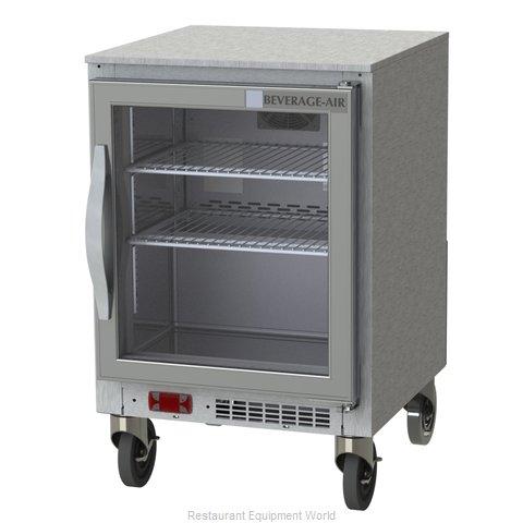 Beverage Air UCR20HC-25 Refrigerator, Undercounter, Reach-In